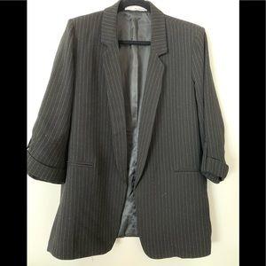 The Archives Vintage oversized black blazer, Small